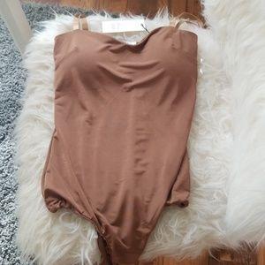 Nude Bodysuit with padding